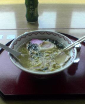 アポイ山荘 昼飯
